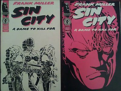 Sin City A Dame To Kill For issue 5 & 6