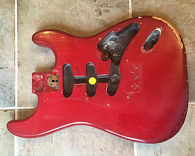 1979 Fender USA Stratocaster hardtail guitar body, fits any 1970s Strat neck
