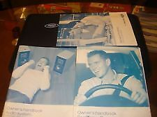 Ford TRANSIT HANDBOOK OWNERS MANUAL + AUDIO + SERVICE BOOK  2006-2012 & WALLET