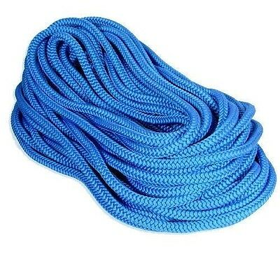 Tree Climbing Line/Rope 120' Samson True Blue, 7300 Lb, 16 Strand,Made USA