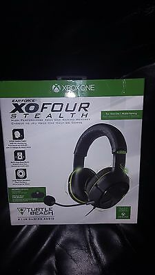 Turtle Beach Ear Force XO Four Stealth Gaming Headset -Xbox One & Xbox One S New