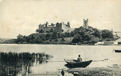 Linlithgow Palace from West. Linlithgow  West Lothian  Vintage Postcard