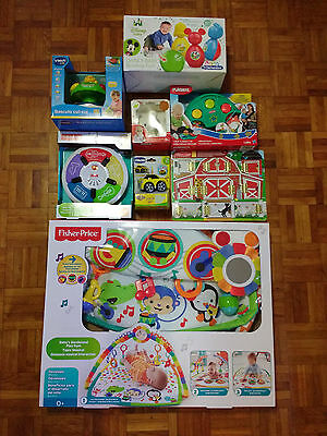 Lot 8 jeux premier age NEUFS - Tapis Musical + Piano + Voiture + Bowling + ...