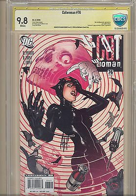 Catwoman #76 CBCS 9.8 signed by Signed Adam Hughes not 70, 73, 80