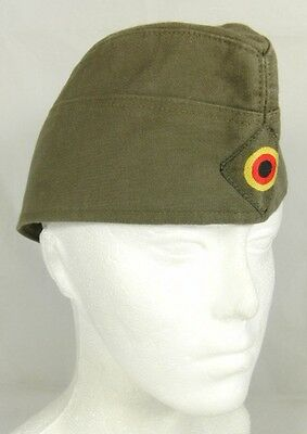 Vintage 1989 West German Army Garrison Cap Hat Schmidt Hartlieb 60cm XL
