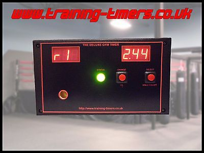 The Deluxe Gym Timer for boxing/martial arts/mma/tabata/circuit training