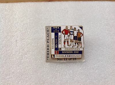 1994/95 Bolton Wanderers F.C. Top Four Finishers Badge
