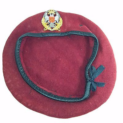 Yugoslavia Serbian Army Special Forces Red Beret
