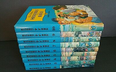 Lot Arthur Maxwell Illustrated Children's HC Books The Bible History French