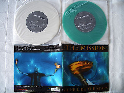 "The Mission - Shine Like The Stars Double 7"" Coloured Vinyl Ltd. Edt."