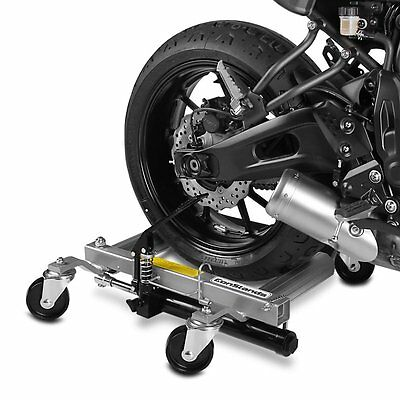 Motorcycle Dolly Mover Heavy Duty Motorbike Trolley Skate Parking Aid