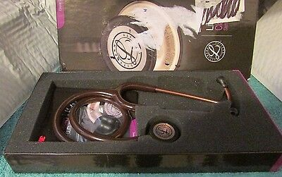 3M Littmann Classic III Stethoscope Copper-Finish Chestpiece Chocolate Tube 27IN