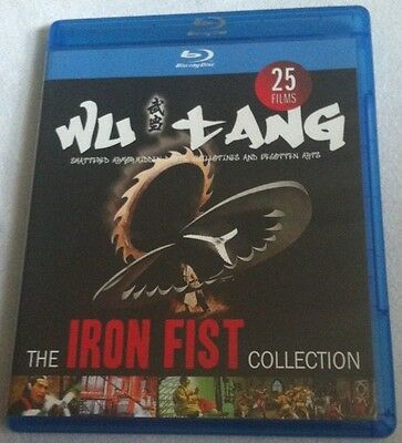 The Iron Fist Collection Blu-ray OOP Wu-Tang Clan 25 HK Martial Arts Films RARE