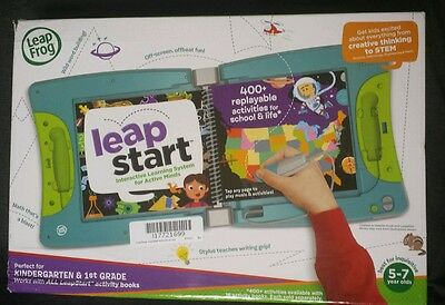 Leap Start Interactive Learning System Leap Frog New K 1st Grade