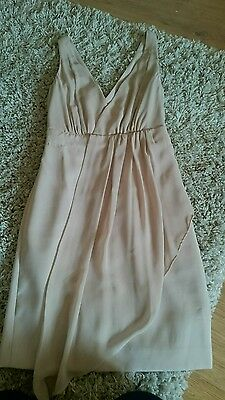 Warehouse Ladies Christmas /Wedding party dress size 6 in cream