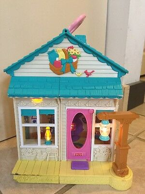 Fisher Price 2006 Sweet Street Country General Store~ Sounds & Lights Up