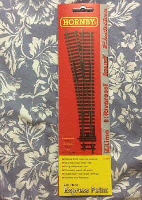 Hornby R8077 Left-Hand Express Point OO Gauge NEW