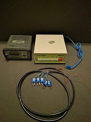Physitemp BAT-12 Microprobe Thermometer with SBT-5 5-Channel Probe Selector