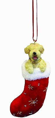 Soft Coated Wheaten Terrier Santa's Little Pals Dog Christmas Ornament