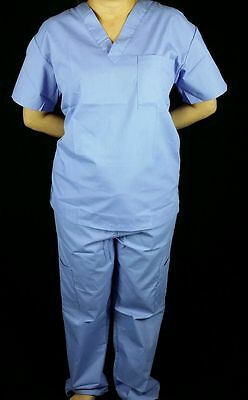 3e878716648 MedGear Scrubs Set, Women Top and Cargo Pants, Nursing Uniform, Ceil, USA