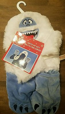 Rudolph the Red-Nosed Reindeer Bumble Hat, Scarf & Mittens