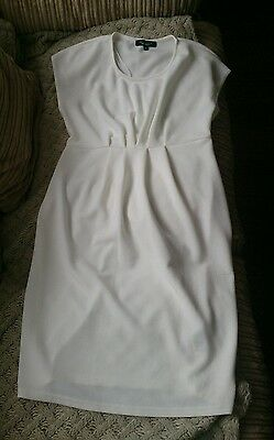 Last time auction!!NEW LOOK MATERNITY short wedding dress size 8UK /RRP £59