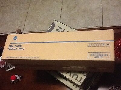 KONICA MINOLTA DU-102C CYAN DRUM UNIT A0400Y4, Factory Sealed.