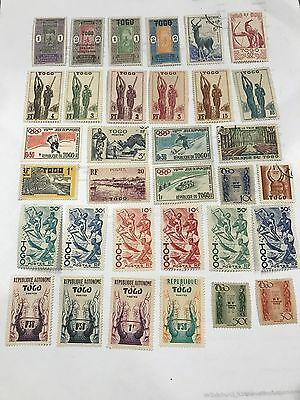 Togo  Collection Mixed Unused & Used LOT D03032