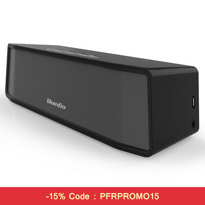 Bluedio BS-2(Explorateur) Mini Bluetooth haut-parleur Portable Sans fil Noir