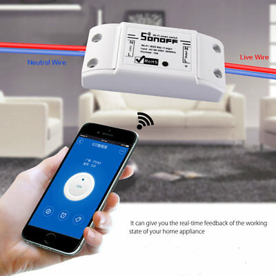Smart Home WiFi Wireless Timing Timer Switch Remote Controlled for iOS Android