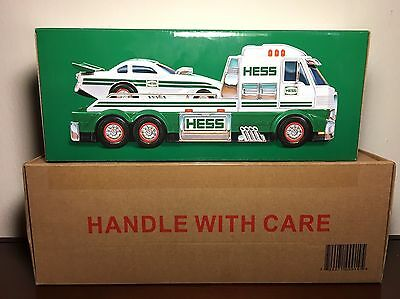Hess Toy Truck And Dragster 2016 - Batteries Included -  Brand New, Sealed!