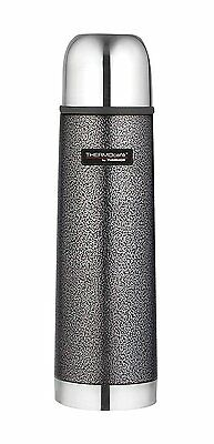 Thermos 187011 Thermocafe Hammertone Stainless Steel Flask - 500 ml, Black