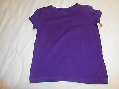 Toddler Girls Blouse Sz 24 Mths Purple Nwt