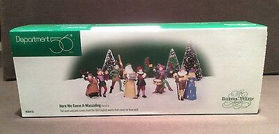 Dept 56 , Dickens Village , Here We Come A-Wassailing , Set Of 5 , 58410