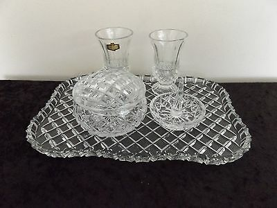 Crystal 5 Pce Dressing Table Set