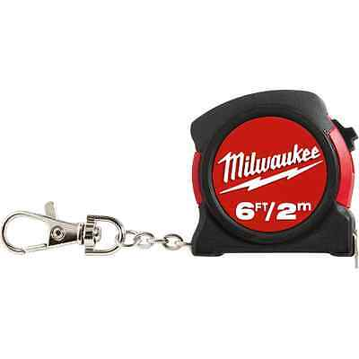 Milwaukee 48-22-5506 6ft / 2m Keychain Tape Measure
