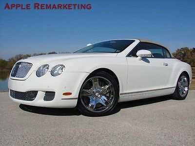 2007 Bentley Continental GT GTC Convertible 2-Door 2007 BENTLEY GTC POWERFUL V12 17k NEW TIRES WELL MAINTAINED FREE SHIPPING L@@K!