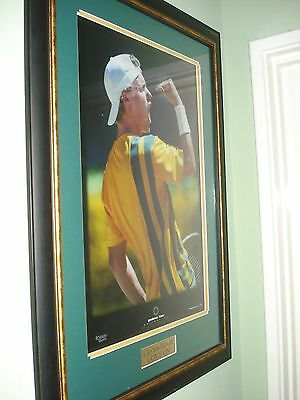 """Lleyton Hewitt Limited Edition """"Come On"""" Print"""