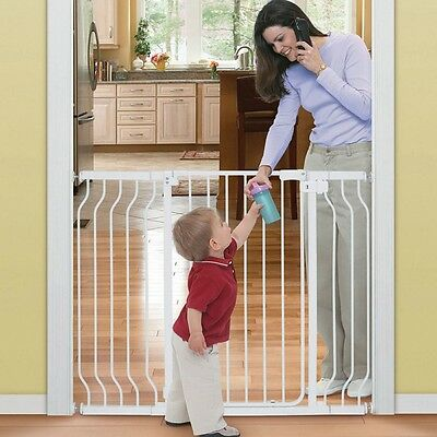 Summer Infant Sure And Secure Adjustable Tall Walk-Thru Baby Toddler Safety Gate
