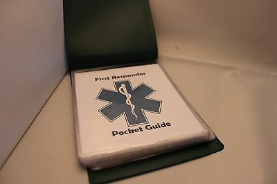 Ambulance Community First Responder pocket guide charity sale