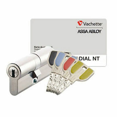 CYLINDRE DOUBLE RADIAL SERIE P7101NT VACHETTE ASSA ABLOY 32,5x32,5 NEUF