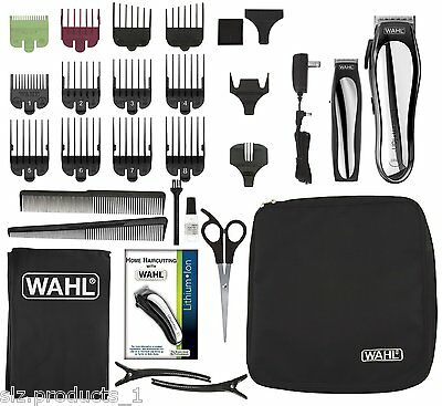 Wahl 79600-2101 Lithium Ion Cordless Hair Clipper Barber