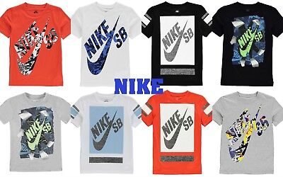 New  RIP/Block Boys Junior Nike TShirt Crew Neck Casual Top Size Age 3-13 Yr