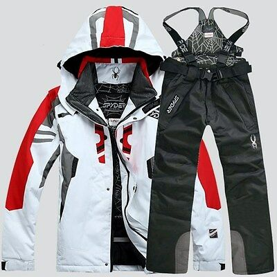 2017 Winter Men Ski Clothing Outdoor Waterproof Jacket Warm Coat Pants Suits