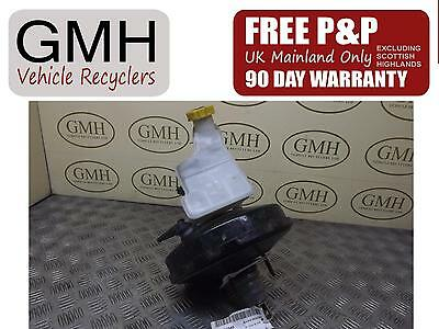 Ford Fusion 1.4 Petrol Brake Servo & Master Cylinder With Abs 2002-2011 §