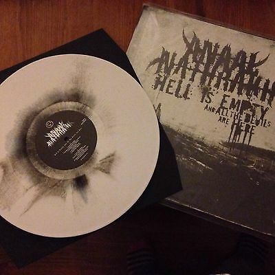 Anaal Nathrakh splatter vinyl LP Hell is empty and the devils are here 300 only