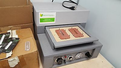 Cartridge sealer for packaging.   Creates child proof packaging.
