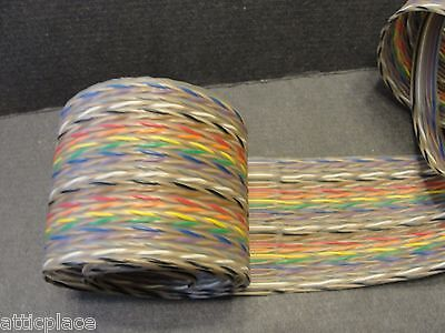 """25 TWISTED PAIRS RIBBON CABLE-2x18"""""""