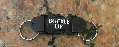Buckle Up For Safety Keychain