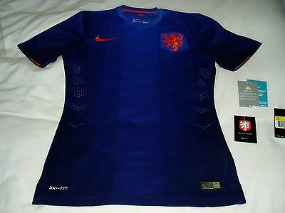 Holland 2014/15 Away Football Shirt / Soccer Jersey - Players Edition - Size S